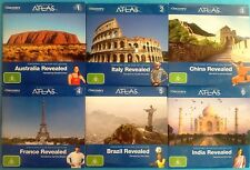 DISCOVERY ATLAS DVD Collection Vol. 1-6: Aus-Italy-China-France-Brazil-India VGC