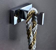 Single Hook Bath Towel Clothing Holder Wall Mounted Hanger Bathroom Accessories