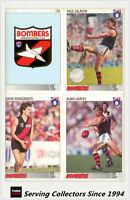 1993 Inaugural Select AFL Trading Card Base Team Set Essendon (13)-MINT