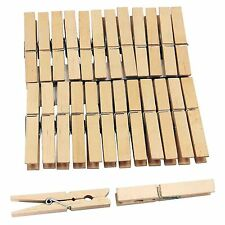 Strong Wooden Clothes Pegs Laundry Bag Washing Line Peg Holder Airer Drying Clip