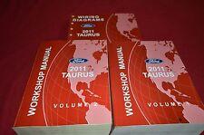 Ford Taurus 2011 Dealer Shop Manual BAPA