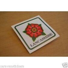 Car Caravan Window Lancashire Rose Sticker Decal Graphic - SINGLE