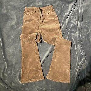 Shein Brown Cord Flares