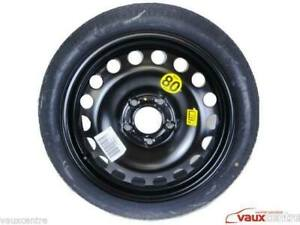 """VAUXHALL  ZAFIRA C TOURER 17"""" SPARE WHEEL SPACE SAVER WHEEL AND TYRE 13350701 GM"""