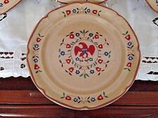 International China American Patchwork Collection AMERICAN EAGLE Dinner Plates