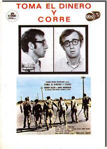 Postcard Poster of Movie - Toma El Dinero Y Core