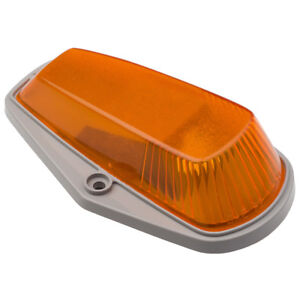 OEM NEW Cabin Roof Top Clearance Marker Light Lens Amber F-Series EOTZ-15442-E