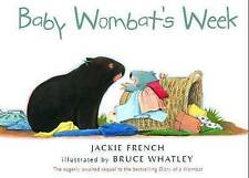 Baby Wombat's Week by Jackie French (Board book, 2011)