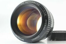 [N.Mint] Minolta MC Rokkor PG 58mm f1.2 MF Prime Lens from Japan #493