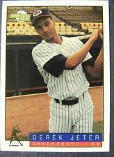 Derek Jeter Piece Of Authentic Baseball Cards Ebay