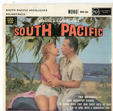 """South Pacific Highlights - Soundtrack 7"""" Ep 1958"""
