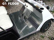 YAMAHA G1 golf cart Highly Polished Diamond Plate Floor