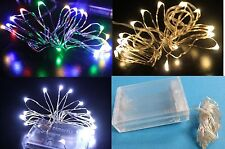 Battery Operated 30 LED Light String Fairy Party Wedding