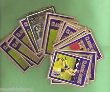 #D59.  SET OF 24  CADBURY 1998 CLASSIC GRABS AFL CARDS
