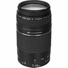 Canon EF 75-300mm F/4-5.6 III USM Lens - Brand New - Free Shipping!