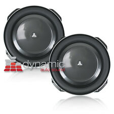 """Two (2) JL AUDIO 13TW5v2-2 13.5"""" Single 2 ohm Thin-Line TW5 Series Subwoofers"""