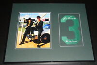 Jose Canseco Signed Framed 16x20 Jersey # & Bash Brothers Photo Display A's