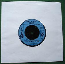 """Donny & Marie Osmond Make The World Go Away + 2006 523 7"""" Single"""
