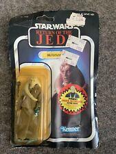 Star Wars Return Of The Jedi Bib Fortuna Originally Sealed No Backing Card