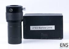"Skywatcher 2x Super Deluxe 2"" Barlow Lens with 1.25"" Adapter"