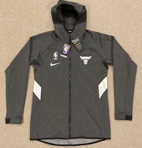 Nike NBA Chicago Bulls Therma Flex Showtime Jacket Mens Size MT AV0806-032