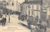 CPA 88 GERARDMER SOUVENIR DE LA CAVALCADE CHARS DES PECHEURS A LA LIGNE LES BOST