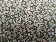 Liberty of London Tana Lawn Fabric 'Pepper E' 1.6 METRES 160cm x 136cm Beige