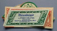 altes Heft Geheft Katalog Musterkatalog Weinetiketten Spirituosenetiketten