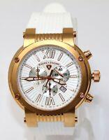 Swiss Legend Men's Legato Cirque Watch Rose Gold Chronograph Swiss Quartz 10006