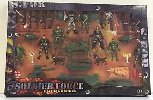 Soldier Force Global Heros Set Army Action Figure Playset