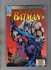 BATMAN #498 - JIM APARO ART - KELLEY JONES COVER - BANE APP. - 1993