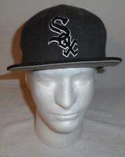 c30093cd4c3 Chicago White Sox Baseball Snapback Hat cap gray black New Era 9Fifty NWOT