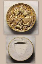 KLUB Otto Buchwitz Freital Plakette Medaille Ton 128 mm geprägte Marke 1990 xz