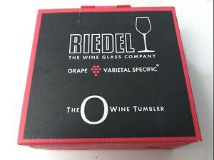 Riedel O Wine Tumbler Champagne, Set of 2 Fine Crystal Flute Glasses