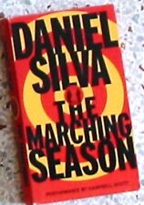 DANIEL SILVA'S THE MARCHING SEASON AUDIO CASSETTE FREE SHIPPING