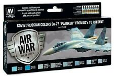 Vallejo 71.602 - Colour Kit, Su-27 Flanker, 8 x 17 ML (14,56 €/ 100ml) - New