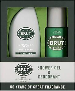 Brut For Men Shower Gel And Deodorant Set FREE POST