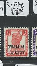 INDIA GWALIOR (P0704BB4) KGVI  2A  SG 123    MOG