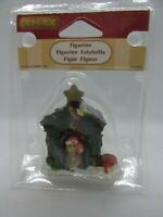 2010 Coventry Cove by LEMAX Village Figurines DECORATED LIGHT DOGHOUSE, NIP #2