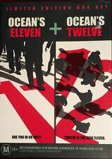 Ocean's Eleven  / Ocean's Twelve (DVD, 2005, 2-Disc Box Set)  BRAND NEW