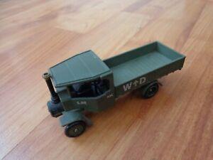 CORGI SHOWCASE 1/72 WW1 BRITISH FODEN 5 TON STEAM WAGON DIECAST MILITARY MODEL