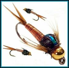 Trout Flies Suspender Buzzer # 10 12 14 or mixed S93 By Arc Fishing Flies UK