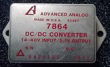 Advanced analógico 52467 DC/DC Convertidor de Entrada/salida 5.1V 14-40V Modelo 7864