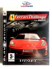 Ferrari Challenge PS3 Playstation Nuevo Precintado Sealed New PRECINTO ROTO
