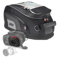 Givi 15 Liter XS307 Tanklock Tankbag and BF16 Tanklock Mount   -