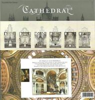 GB Presentation Pack 413 2008 CATHEDRALS INCLUDES M/S
