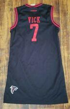 VTG Kids Reebok Atlanta Falcons Vicks Jersey Dress Medium #7