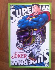 SUPERMAN EMPEROR JOKER PAPERBACK  FIRST PRINTING VERY FINE/NEAR MINT( A44)