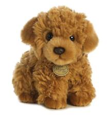 "L@@K Aurora Poodle Pup 9"" Long 26276 Stuffed Animal Soft Baby Toy Plush NEW"