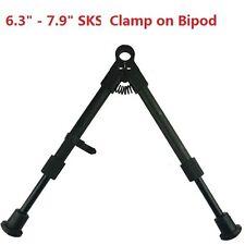 "FieldSport Sks Aluminum Medium Height Short Bipod 6"" - 8"" Adjustable Clamp On"